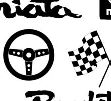 Miata Roadster Originals Sticker