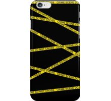 Crime Scene Do Not Cross iPhone Case/Skin