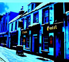 The Crown, Peebles (digitally enhanced photograph) by BillCowe