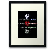 The Hero of Dragon Age Framed Print
