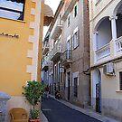 A Side Street In Soller...............................Majorca by Fara