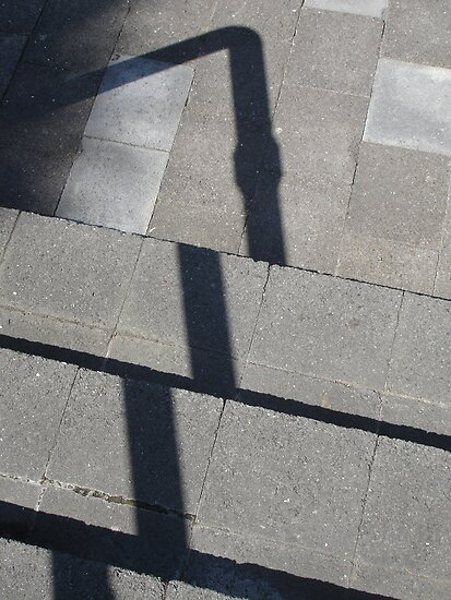 Sun shadows III by Louise Marlborough