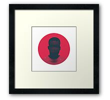 Red Balloon Project Framed Print
