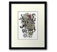 Icky stuff Framed Print