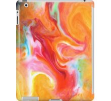 Smudge Paint Abstract #1 iPad Case/Skin