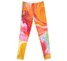 Smudge Paint Abstract #1 Leggings