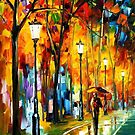 The Way To Warmth — Buy Now Link - www.etsy.com/listing/223805461 by Leonid  Afremov