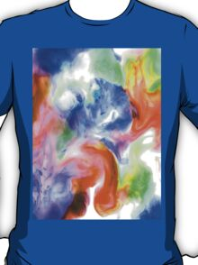 Smudge Paint Abstract #2 T-Shirt