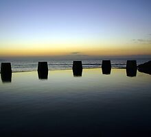 First Light - Coogee, NSW by Malcolm Katon