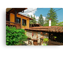 Traditional house in Koprivshtitsa, Bulgaria # 3 Canvas Print