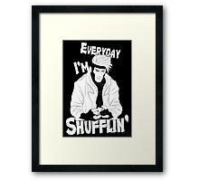Master Shuffler Framed Print