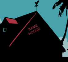 Kame House Sticker