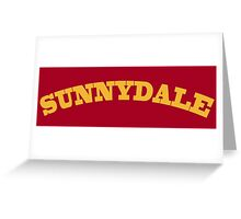 Sunnydale Gym Greeting Card