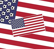 United States of Soccer by piedaydesigns