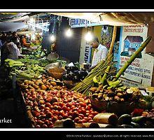 The Vegetable Market by Shrikrishna Pundoor