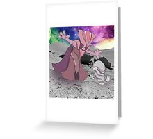 Wizard and Thrall Greeting Card