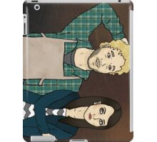 Andy & April iPad Case/Skin