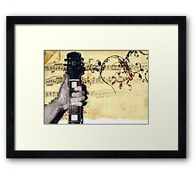Thumbs Up To Music Framed Print