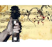 Thumbs Up To Music Photographic Print