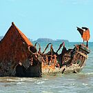 "Wreck of the ""Carpentaria Light Ship"" #2 by Marilyn Harris"