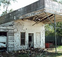 Oklahoma Garage Ruin by Paul Butler