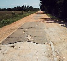 Old 66 Road Quapaw Oklahoma by Paul Butler
