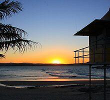 Sunset at Rainbow Bay I by Nicholas Ward