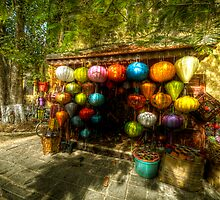 Lanterns Hoi An by nick board
