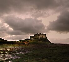 Hard digging... Lindisfarne Castle  by Bootkneck