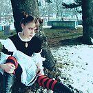 She whispers Death... by Line Svendsen
