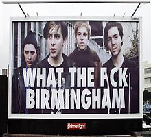 What the eff Birmingham by neartastic