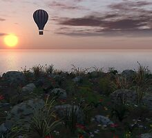 Balloon Ride by Keith Reesor