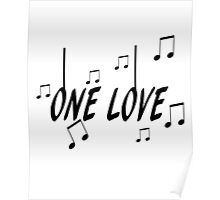 One Love, Music Poster