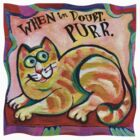 Purr Cat T Shirt by Theresa Bayer