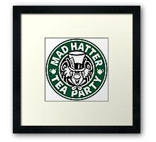 Mad Hatter Tea Party Framed Print