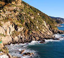 Five lands capes, Cinque Terre by Monica Di Carlo