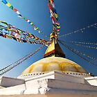 Boudhanath Stupa by Suze Chalmers