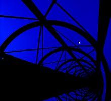 pylon at night, bondi, sydney by Peter  Middleton