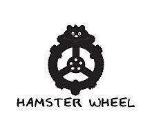 Hamster wheel Photographic Print