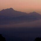 Annapurna Misty Sunrise 1 by Suze Chalmers