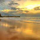 Golden Reflections - Warriewood &amp; Mona Vale Beaches - The HDR Series by Philip Johnson