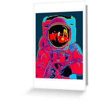 psychedelic astronaught  Greeting Card