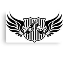drinking team logo Canvas Print