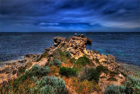 Rocky Coastline by Claire  Farley