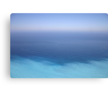 Between heaven and earth - or sea Canvas Print