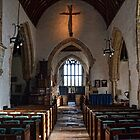 St Winifreds Church Interior, -Branscombe Devon UK by lynn carter
