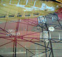 Ferrari Under Glass by dwcdaid