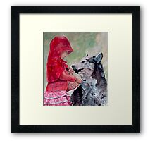 A Different Version Framed Print