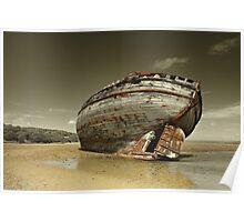 Shipwreck - Dullas Bay Poster