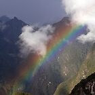 Rainbow over Machupicchu by David Tovey